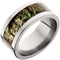 10mm Titanium Flat Band with Mossy Oak® Break-up Infinity Inlay