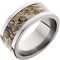 10mm Titanium Flat Band with Mossy Oak® Duck Blind Inlay