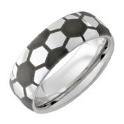 8mm Domed Serinium Soccer Ring