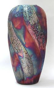 002 - Large Twisted Vase