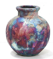 027 - Small Round Vase
