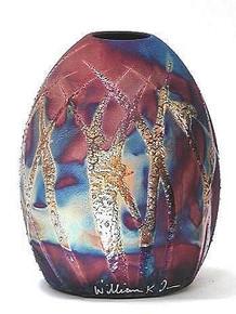 040 - Egg Shaped Vase