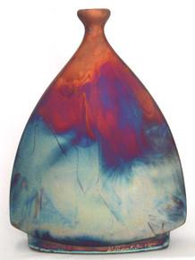 056 - Flat Bottle Vase