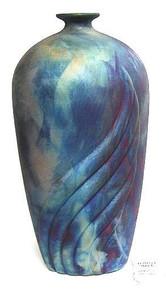 058 - Flame Bottle Vase