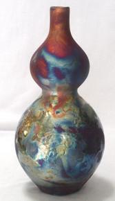 172 - Double Bulb Vase