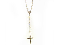 Mother of Pearl rosary 18 inches in length