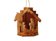 "Nativity Ornament Large 3.5"" Inches Height"