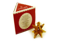 3-D Star of Bethlehem Nativity Ornament.