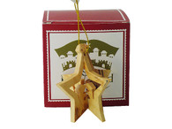 3-D Star Nativity Ornament