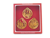 Nativity Trio Collection - Gift Boxed