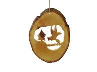 Olive Wood Noah's Dove Ornament.