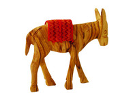 Olive Wood Donkey (5 inches in Height)