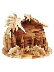 Bethlehem Olive Wood Nativity Set
