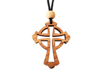 Olive Wood Celtic Cross 1.6 inches in Height