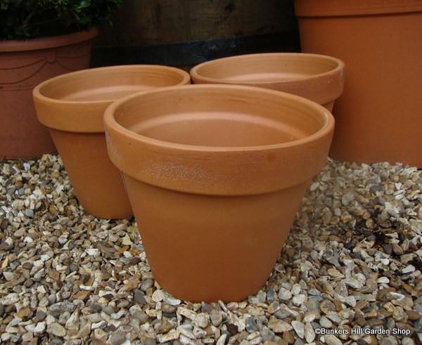 Terracotta Plain Pot - 19cm