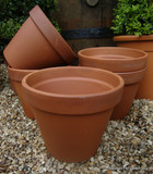 Terracotta Plain Pot - 23cm