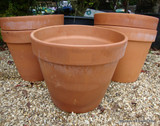 Terracotta Plain Pot - 43cm