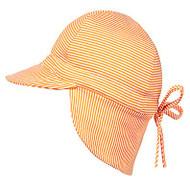 Flap Cap Baby Ginger