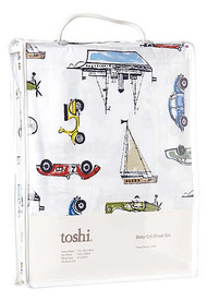 Cot Sheet Set Woven Odyssey