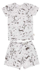 Pyjamas Short Sleeve Animale