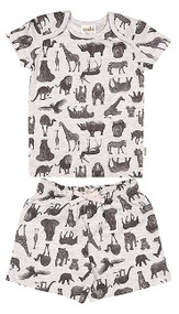 Pyjamas Short Sleeve Zoo