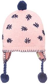 Organic Earmuff Flower Blush