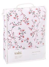 Cot Sheet Set Knit Blossom