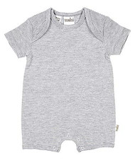 Onesie Sleepytime Short Sleeve Dove