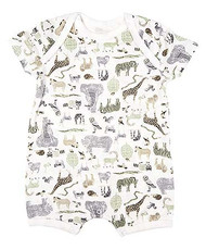 Onesie Short Sleeve Jungle