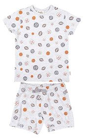 Pyjamas Short Sleeve Balls