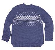 Organic Pullover Picco Navy