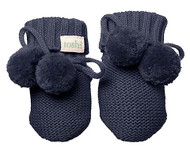 Organic Booties Marley Midnight