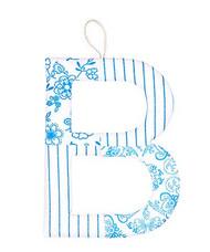 B Letter Dusk