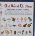 Old World Christmas Brochure