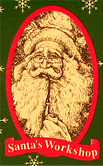 Santa's Workshop Santa Dolls Logo