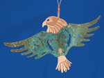 Copper Eagle Southwestern Ornament