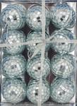 "Mirrored Disco Ball Ornaments, 12 pc Set, 2"", #KAC1520"