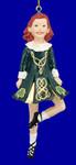 "Female Celtic - Irish Dancer Ornament, 5 1/2"", #KAW4100"