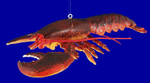 "Large Maine Lobster Ornament, Decor, 9 1/2"" HEAVY ITEM, break resistant #SL4467"