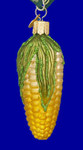 "Ear of Corn Glass Ornament - Corn on Cob, 3 1/2"", OWC #28100"