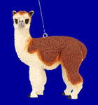 "Alpaca Ornament, 3 1/2"", break resistant #SL4857"