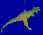 "Carnotaurus Dinosaur Ornament, 6 3/4"", break resistant #SL4877"