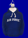 "Air Force Hoodie Ornament, 4 1/2"", OWC #65003"