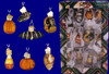 Mini Glass Halloween Glass Ornaments 12 piece Set by Old World Christmas 26027 inset