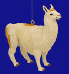 "Llama Ornament, 4"", break resistant #SL5745"