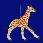 "Baby Giraffe Ornament, 3 1/2"", break resistant #SL5742"