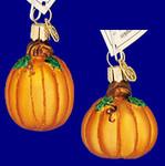 mini pumpkin Old World Christmas Glass Ornament 28047