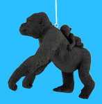gorilla-with-baby-ornament