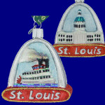 St Louis Glass Ornament by Old World Christmas 20073