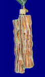 strips of bacon glass ornament by old world christmas 32208